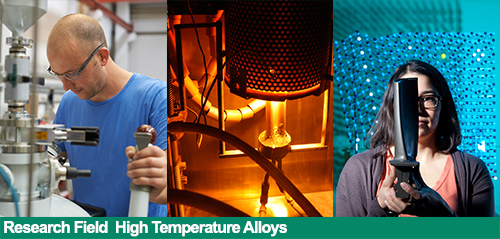 Research Field High Temperature Alloys