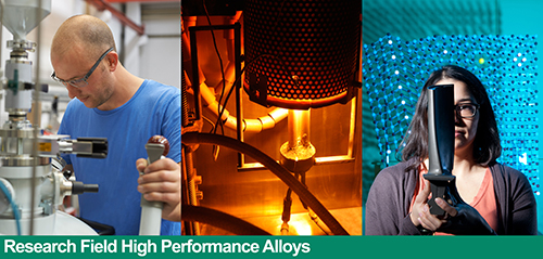 Research Field High Performance Alloys